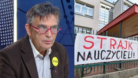 Nauczyciele z Solidarności strajkują mimo porozumienia Wiceprezes ZNP To już nie jest strajk związkowy
