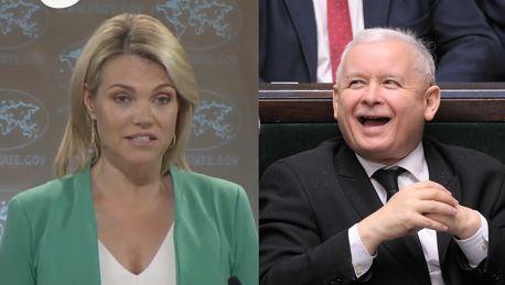 Departament Stanu USA o sytuacji w Polsce Jesteśmy zaniepokojeni Kontynuujemy rozmowy z polskim rządem