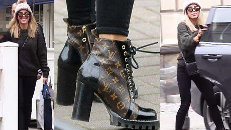 Chodakowska w butach za 5 tysięcy uśmiecha się do paparazzi