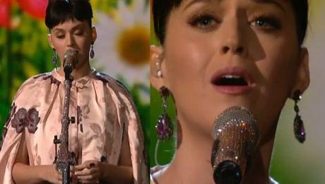 Katy Perry śpiewa Yesterday The Beatles
