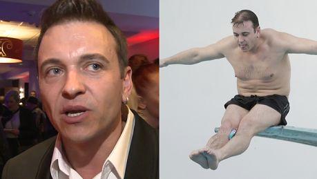 Liszewski broni Celebrity Splash Jak nie wyjdzie tylko pupa piecze