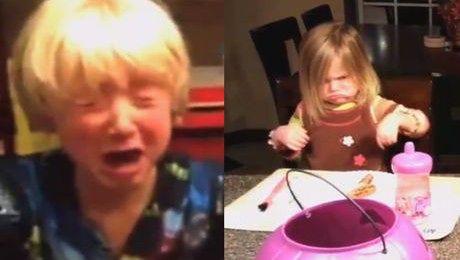 Powiedział dzieciom że zjadł ich słodycze z Halloween