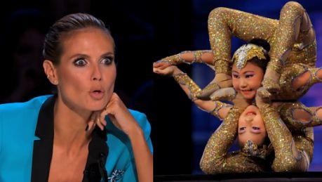 Genialne akrobatki Nie mają 10 lat