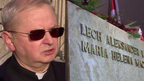 Sarkofag Kaczyńskich uszkodzony podczas ekshumacji