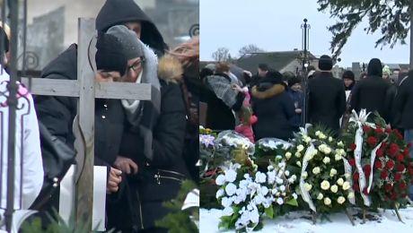 Tak wyglądał pogrzeb 21 latka zabitego w Ełku