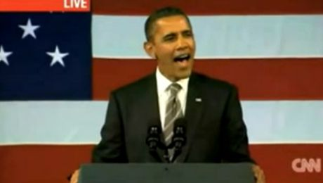Obama śpiewa Let s stay together