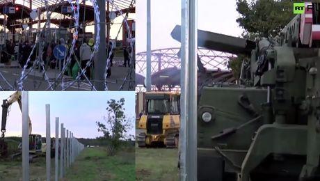 Węgry budują kolejny mur na granicy z Chorwacją