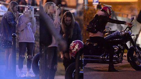 Zawadzka rozpoczyna sezon motocyklowy w różowym kasku WIDEO