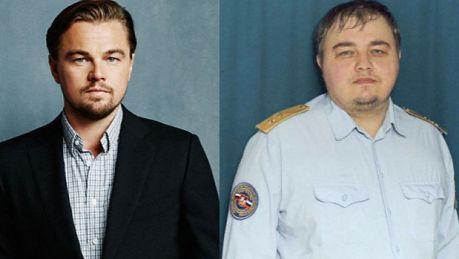 Sobowtór Leonardo DiCaprio w rosyjskiej policji