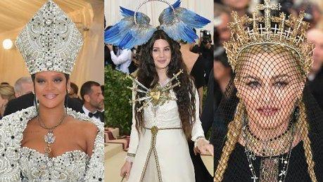 KLIKA PUDELKA Temat Gali MET był skrojony pod Madonnę Mogła przyjść z krzyżem na plecach