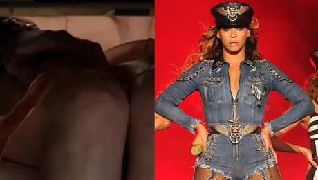 Beyonce promuje 50 Twarzy Greya