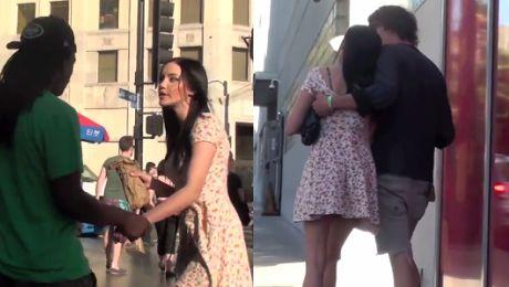 Pijana dziewczyna na ulicy Jak reagowali mężczyźni