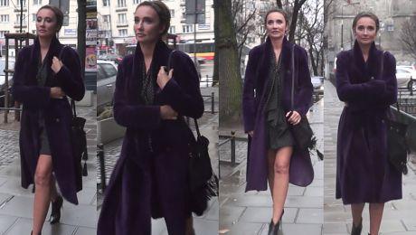 Dominika Kulczyk w krótkiej sukience pod TVN em