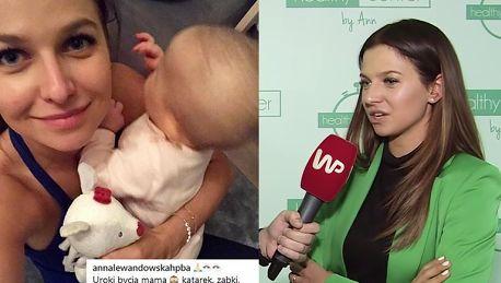 Lewandowska jednak ma nianię Korzystam z pomocy wykwalifikowanej położnej