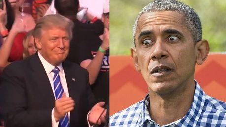Trump Obama jest założycielem ISIS Państwo Islamskie go szanuje