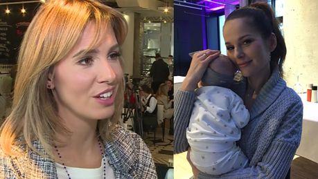 Popielewicz o Sykut Jeszcze nie wróciła z urlopu Widzę jak jest pochłonięta macierzyństwem