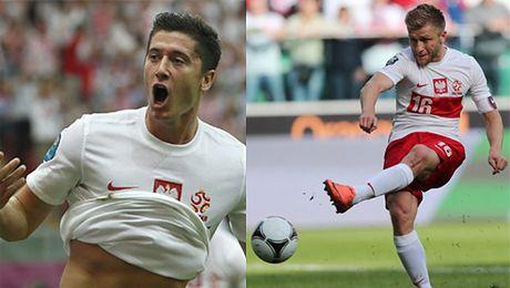 GOLE Polskiej reprezentacji na Euro2012