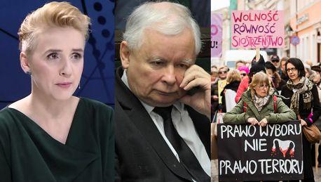 Scheuring Wielgus wspiera Czarny Piątek Kaczyński boi się kobiet Mam nadzieję że zobaczy ten tłum