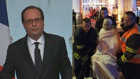 Hollande Po raz kolejny mierzymy się z horrorem Opłakujemy ponad 80 osób wśród których są dzieci