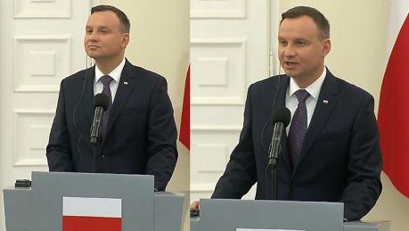 Duda nie chce uchodźców w Polsce Nie wyobrażam sobie że ktoś jest przywożony siłą i przetrzymywany