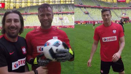 Piłkarze reprezentacji Polski nagrali film dla chorego chłopca