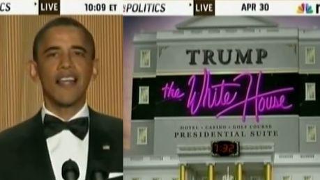 Obama wyśmiewa Donalda Trumpa To wtedy zdecydował że zostanie prezydentem