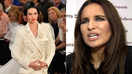 Horodyńska ostro o siostrze Kim Kompletnie nie pasuje mi ta twarz
