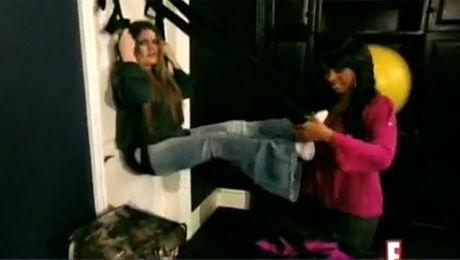Seks huśtawka w domu Kardashianów