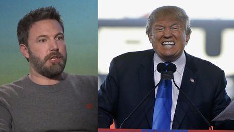 Ben Affleck o Donaldzie Trumpie Maskuje swoją niepewność