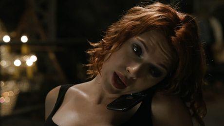 Seksowna Scarlett Johansson jako superbohaterka