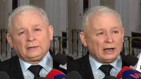 Kaczyński Donald Tusk nie będzie już mógł funkcjonować z biało czerwoną flagą
