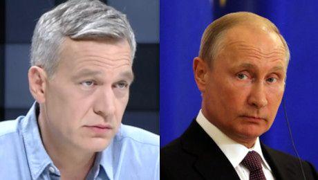 Żebrowski planuje zemstę na Rosjanach Minister kultury nie wiedział jak zareagować na moją propozycję