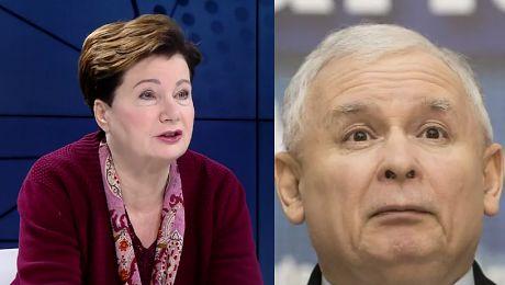 Gronkiewicz Waltz o taśmach Kaczyńskiego Obnażenie PiS u i prezesa