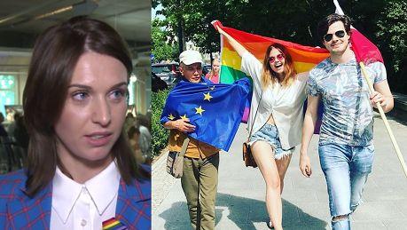 Kamińska o środowisku LGBT Nie ma równości praw w Polsce