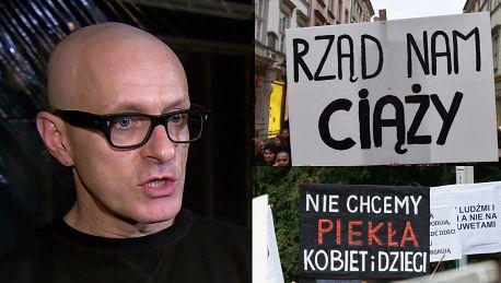 Jacek Poniedziałek Solidaryzuję się z postulatami kobiet i ich walką