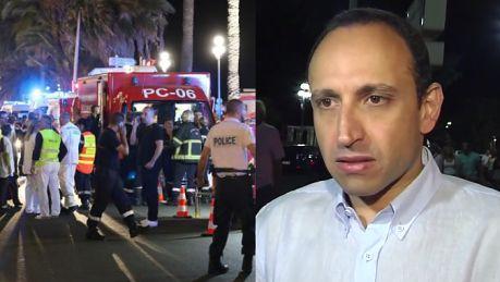 Świadek zamachu w Nicei Próbowaliśmy zatrzymać ciężarówkę i powiedzieć kierowcy że są pod nią ludzie