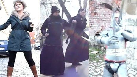 Kraków nagrał własną wersję teledysku Pharrella Williamsa