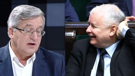 Bronisław Komorowski wspomina Kaczyński dostał ode mnie MANTO