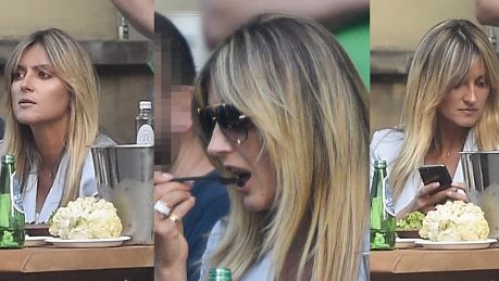 Karolina Szostak zajada warzywa na Zbawiksie
