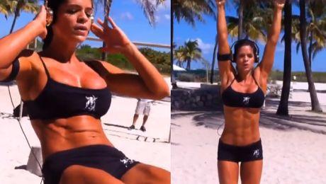 Wenezuelska trenerka fitness podbija Internet Lepsza od Chodakowskiej