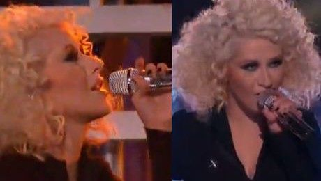 Christina Aguilera jak Michael Jackson