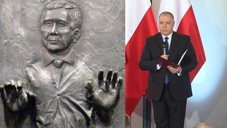 Sasin z PiS Mamy prawie milion złotych na budowę pomników smoleńskiego i Lecha Kaczyńskiego