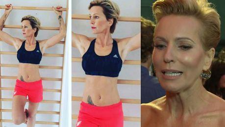 44 letnia Kurzajewska o figurze PESEL jest przeszkodą Trzy razy w tygodniu siłownia rower i bieganie