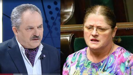 Marek Jakubiak składa propozycję Krystynie Pawłowicz Szanuję ją za odwagę i determinację