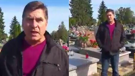 Spot wyborczy lidera Bayer Full Jestem na cmentarzu Do 67 roku życia mało kto dożył