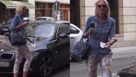 Odeta Moro dostała mandat za złe parkowanie