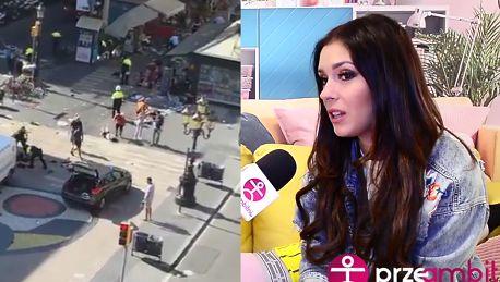 Halejcio przeżywa ataki w Barcelonie Spacerowałam tymi uliczkami