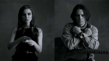 Portman i Depp w teledysku Paula McCartneya