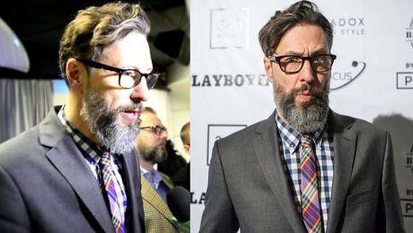 Majewski Nagi mężczyzna z brodą wygląda lepiej niż nagi mężczyzna bez brody