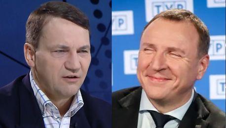 Sikorski o TVP Za nasze pieniądze uprawia się partyjną propagandę